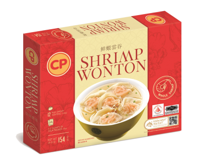 CP Shrimp Wonton Box - 154G