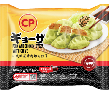 CP Pork and Chicken Gyoza with Chive - 367G