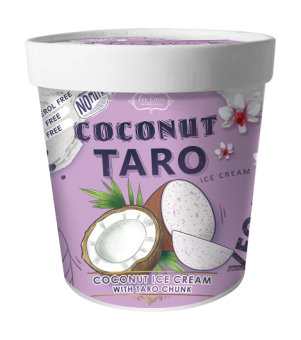 [Ize Coco] Thai Boutique Ice Cream - Coconut Taro 325g Pint