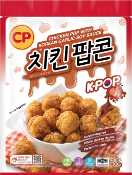 CP Chicken Pop with Korean Garlic Soy Sauce 400G