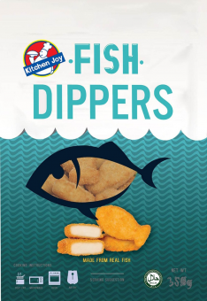 Kitchen Joy Fish Dippers 350G