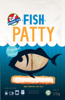 Kitchen Joy Fish Patty - 312G