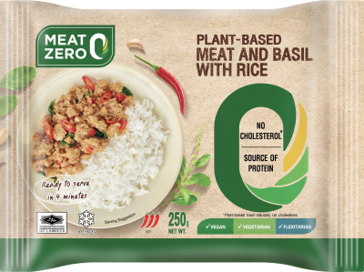 Meat Zero Plant-Based Meat and Basil with Rice 250G