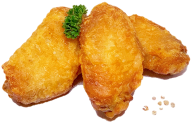 CP Fried Middle Wing - 1kg