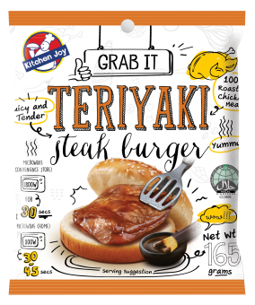 KITCHEN JOY Teriyaki Chicken Burger - 165G