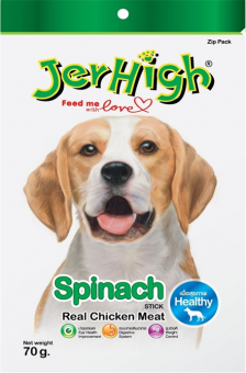 JERHIGH Spinach Sticks - 70G