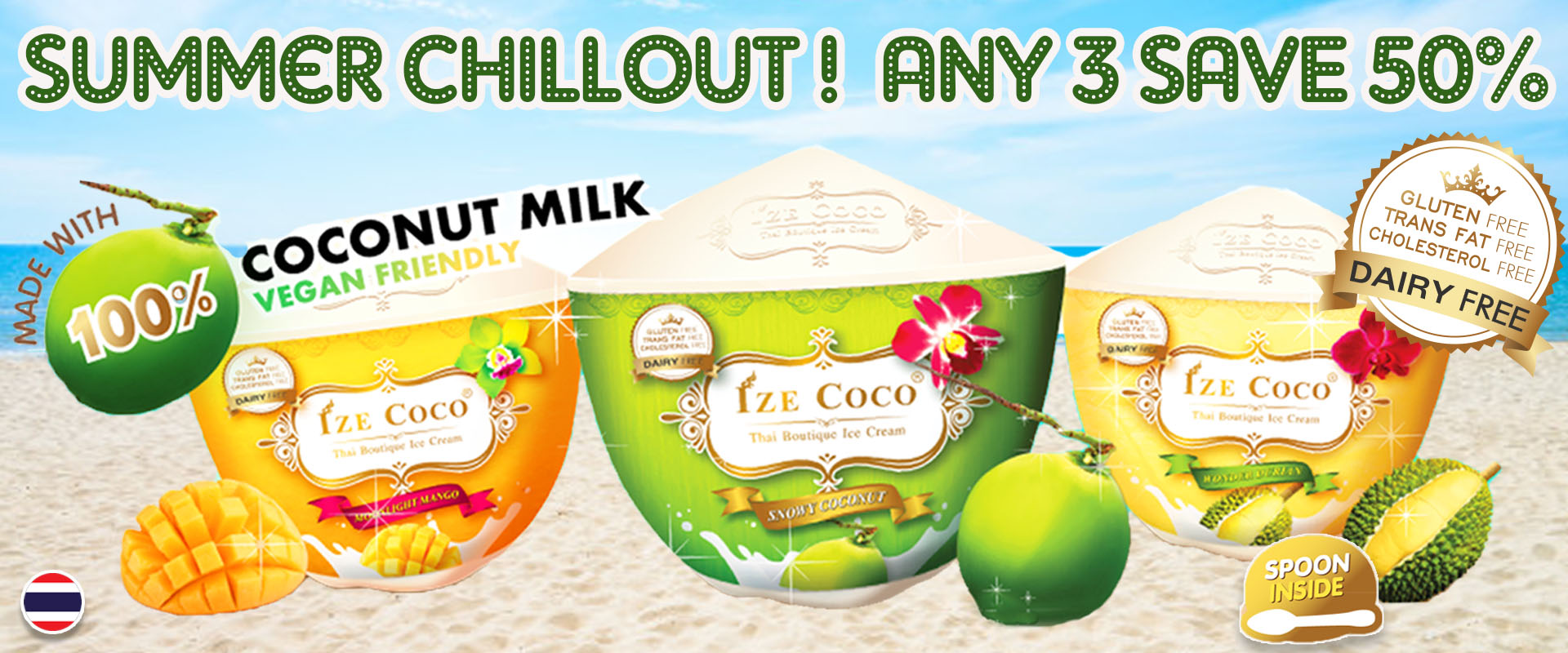 Ize Coco - Buy 3 Save 50%